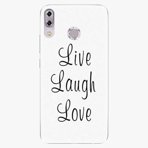 Plastový kryt iSaprio - Live Laugh Love - Asus ZenFone 5Z ZS620KL