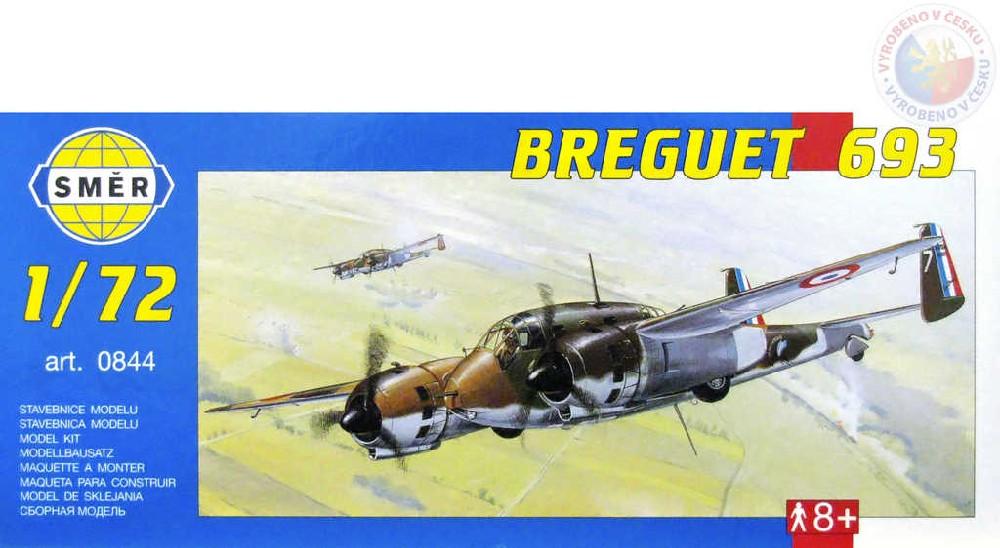 SMĚR Model letadlo Breguet 693 1:72 (stavebnice letadla)