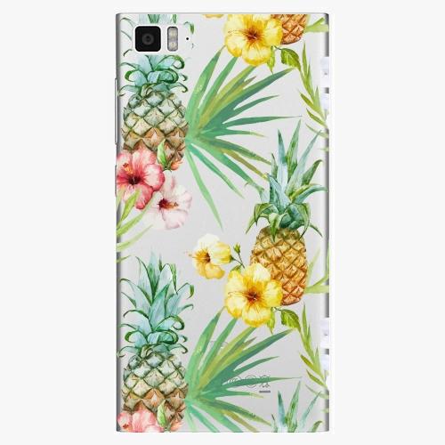 Plastový kryt iSaprio - Pineapple Pattern 02 - Xiaomi Mi3