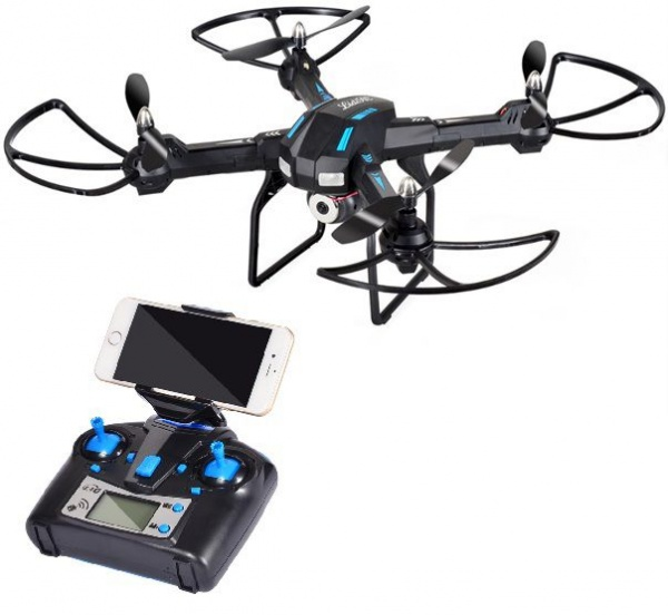 LIDI-5 - velký dron s WiFi-HD pohyblivou kamerou a barometrem