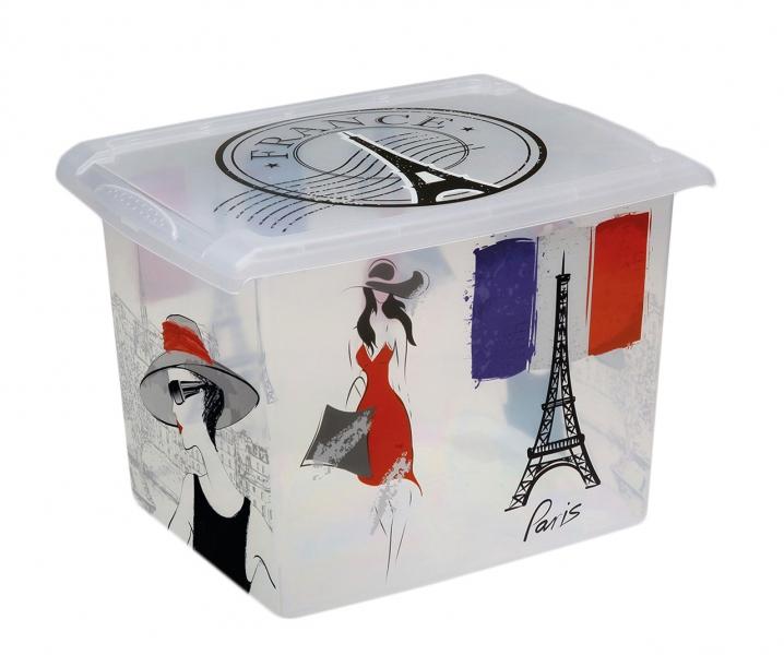 Plastový box Francie - 20,5l