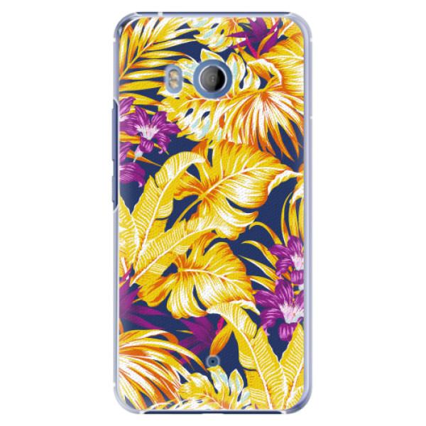 Plastové pouzdro iSaprio - Tropical Orange 04 - HTC U11