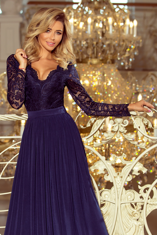 Dlouhé šaty model 122760 Numoco