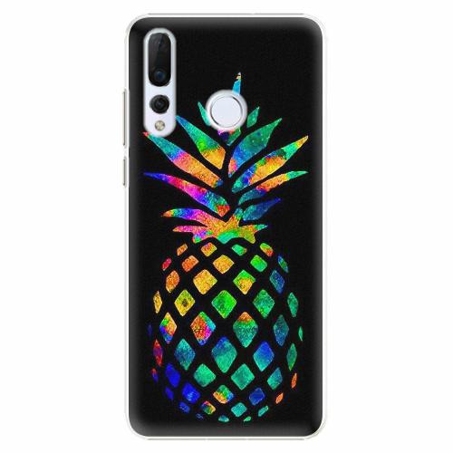 Plastový kryt iSaprio - Rainbow Pineapple - Huawei Nova 4
