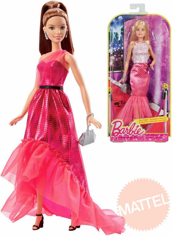 MATTEL BRB Panenka Barbie ve večerních šatech s kabelkou 2 druhy