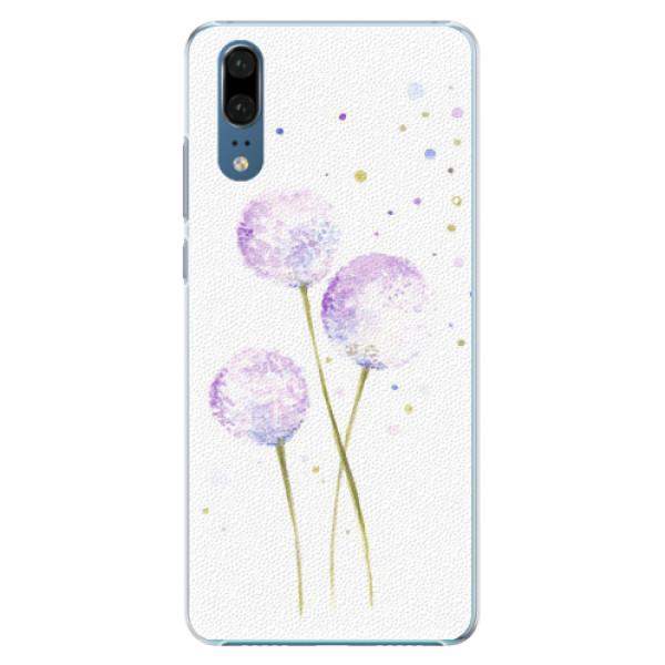 Plastové pouzdro iSaprio - Dandelion - Huawei P20