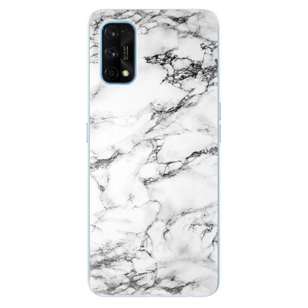 Odolné silikonové pouzdro iSaprio - White Marble 01 - Realme 7 Pro