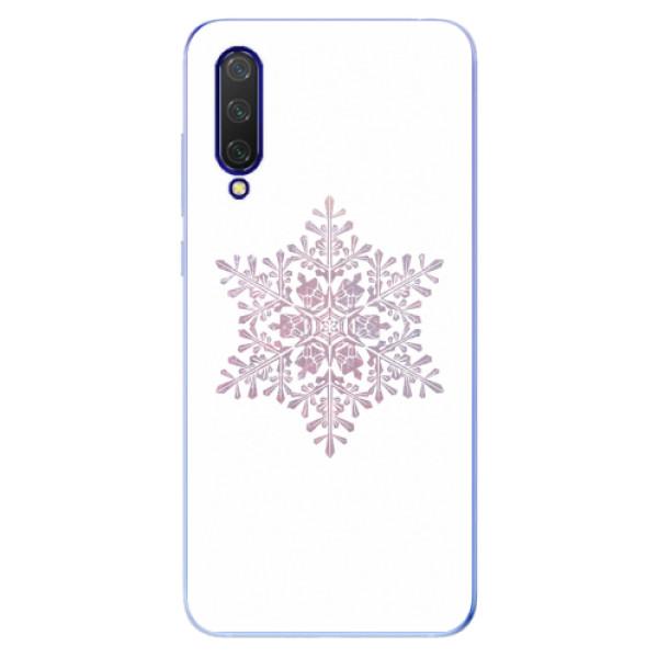 Odolné silikonové pouzdro iSaprio - Snow Flake - Xiaomi Mi 9 Lite