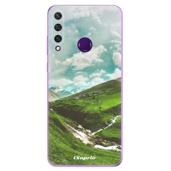 Odolné silikonové pouzdro iSaprio - Green Valley - Huawei Y6p
