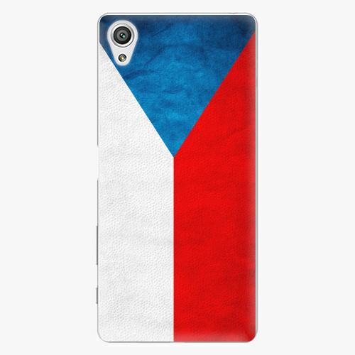 Plastový kryt iSaprio - Czech Flag - Sony Xperia X