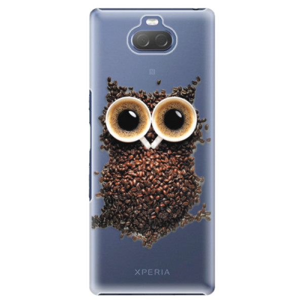 Plastové pouzdro iSaprio - Owl And Coffee - Sony Xperia 10