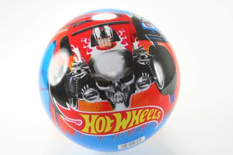 Míč Hot Wheels modrý, 23cm