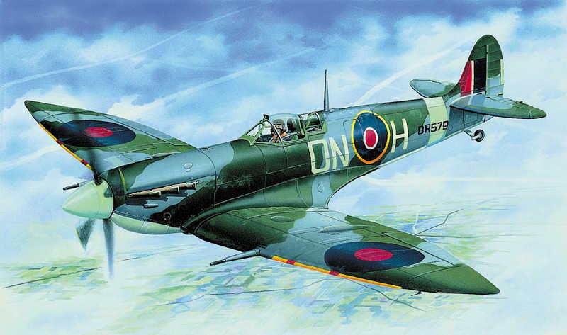 SMĚR Model letadlo Sup.Spitfire 1:72 (stavebnice letadla)