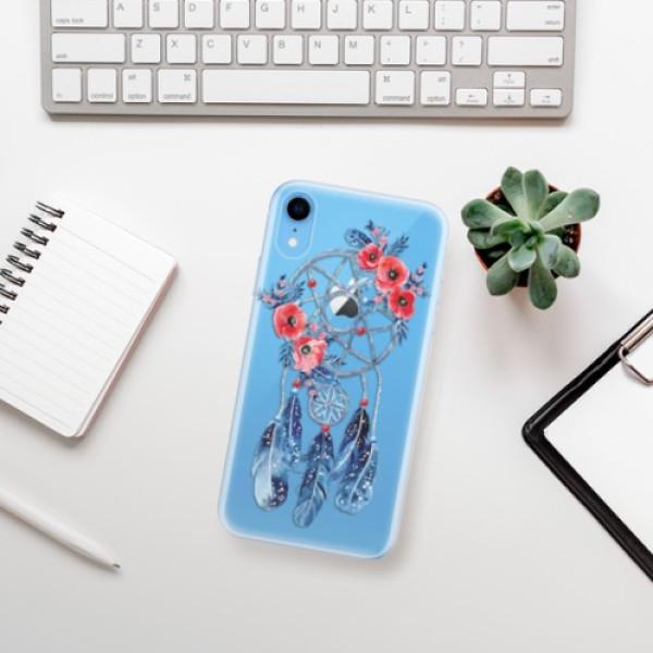Odolné silikonové pouzdro iSaprio - Dreamcatcher 02 - iPhone XR