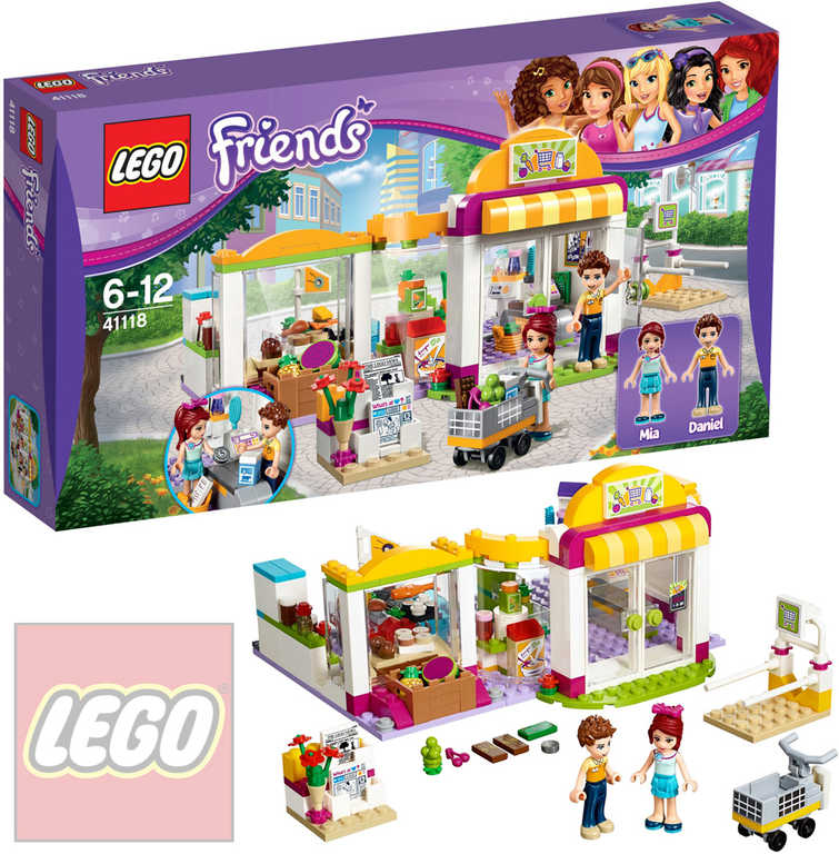 LEGO FRIENDS Supermarket v Heartlake 41118 STAVEBNICE