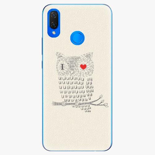 Plastový kryt iSaprio - I Love You 01 - Huawei Nova 3i