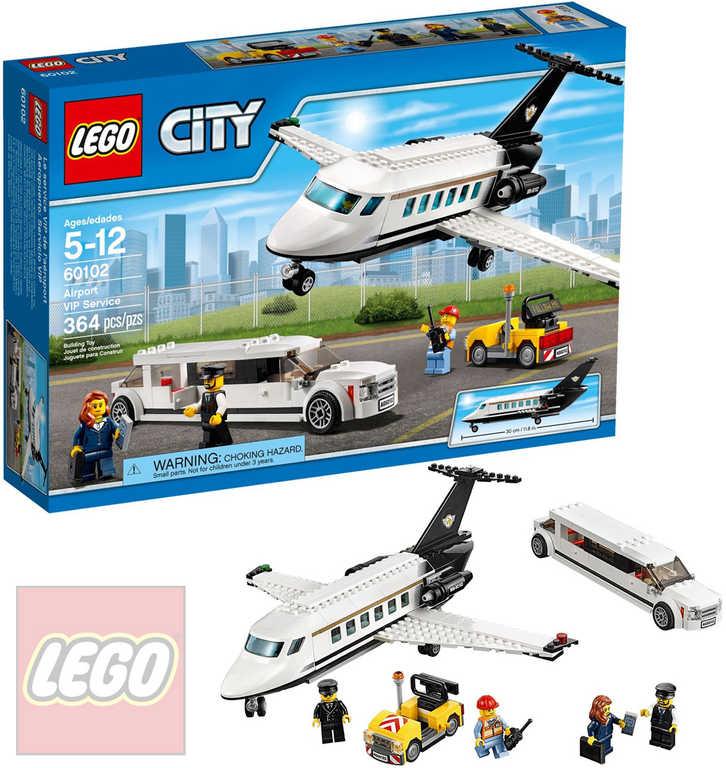 LEGO CITY Letiště VIP servis 60102 STAVEBNICE