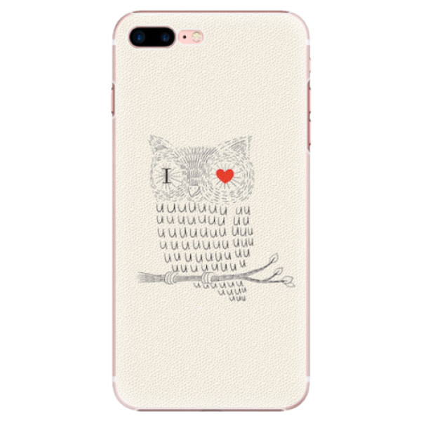 Plastové pouzdro iSaprio - I Love You 01 - iPhone 7 Plus