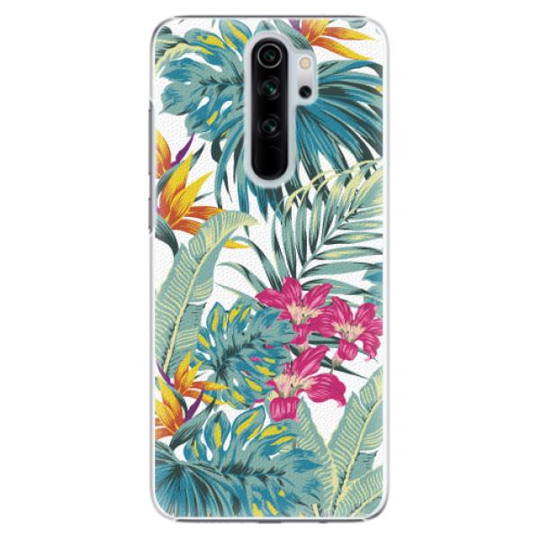 Plastové pouzdro iSaprio - Tropical White 03 - Xiaomi Redmi Note 8 Pro