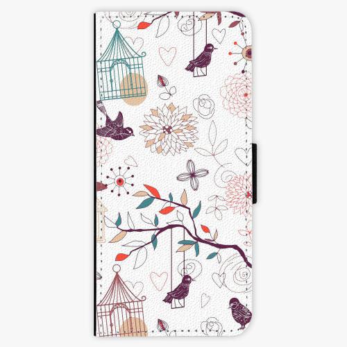 Flipové pouzdro iSaprio - Birds - Samsung Galaxy Note 8