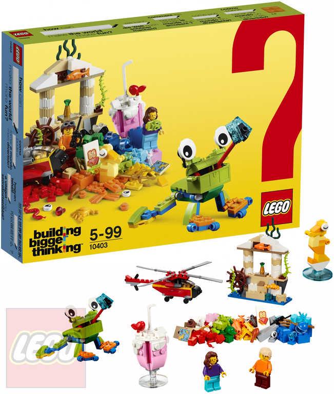 LEGO CLASSIC Svět zábavy 10403 STAVEBNICE