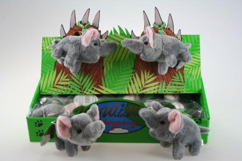 Plyš Slon klíčenka
