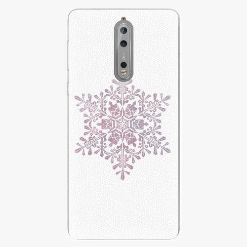 Plastový kryt iSaprio - Snow Flake - Nokia 8