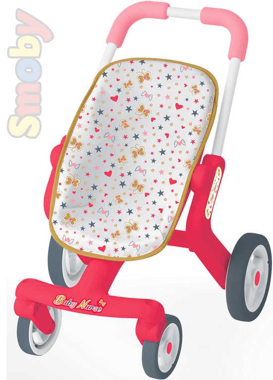 SMOBY Kočárek sportovní Baby Nurse pro miminko panenku