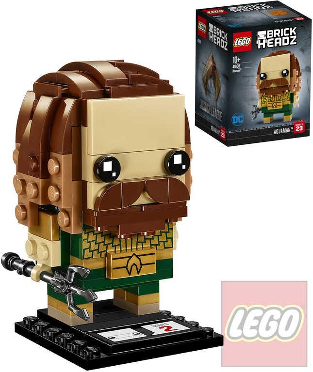 LEGO BRICKHEADZ Liga spravedlnosti Aquaman STAVEBNICE 41600