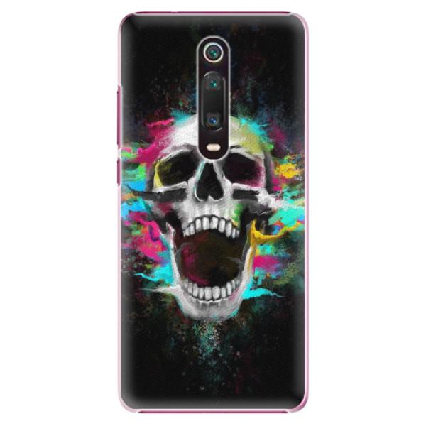 Plastové pouzdro iSaprio - Skull in Colors - Xiaomi Mi 9T