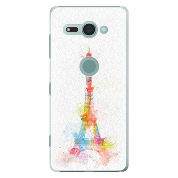 Plastové pouzdro iSaprio - Eiffel Tower - Sony Xperia XZ2 Compact