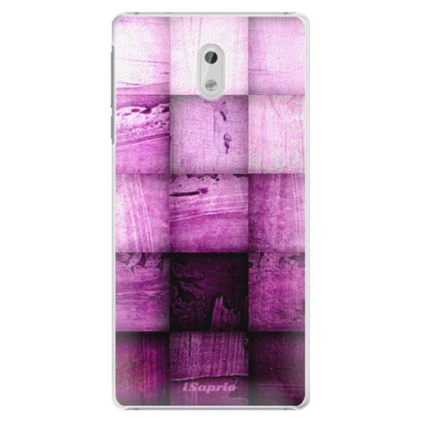 Plastové pouzdro iSaprio - Purple Squares - Nokia 3