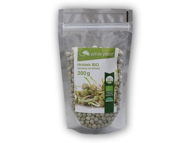 Hrášek BIO - semena na klíčení 200g