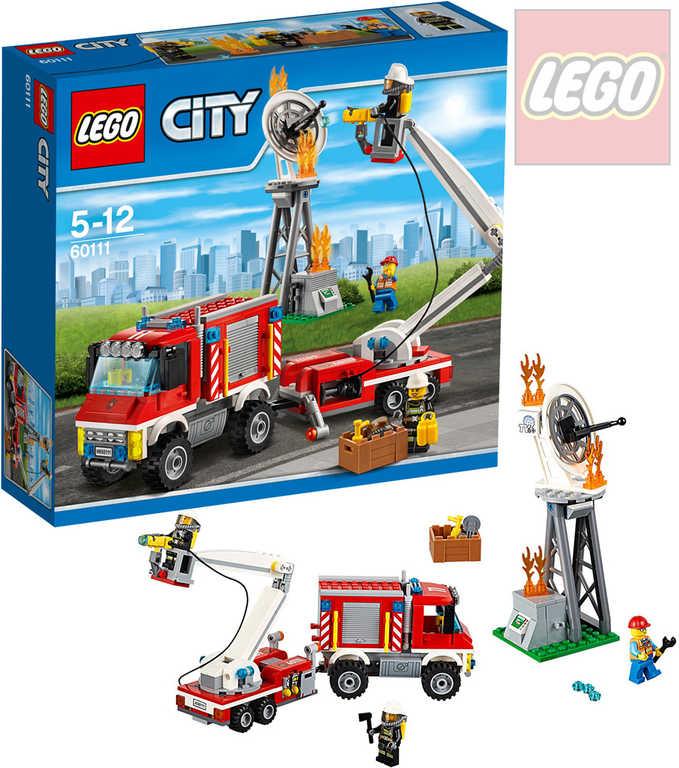 LEGO CITY Zásahové hasičské auto 60111 STAVEBNICE