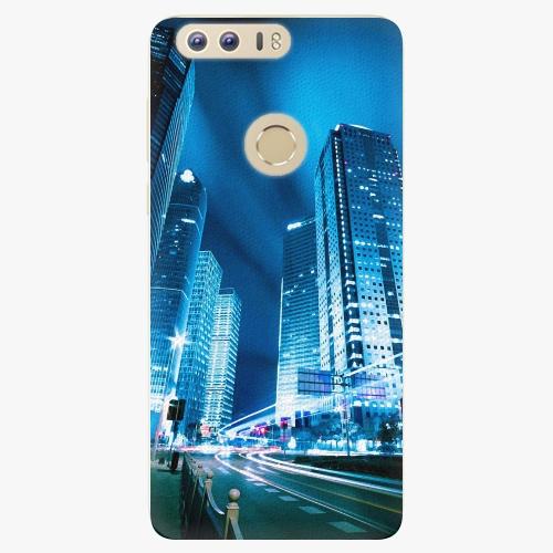 Plastový kryt iSaprio - Night City Blue - Huawei Honor 8