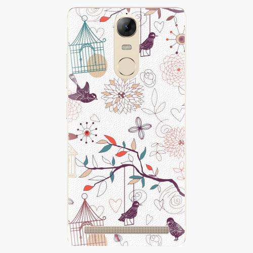Plastový kryt iSaprio - Birds - Lenovo K5 Note