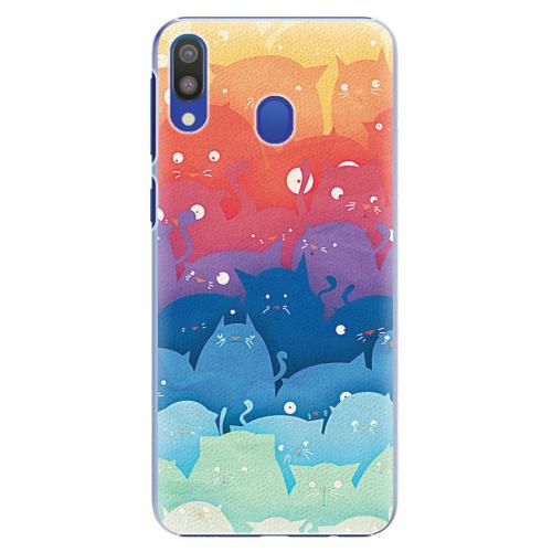 Plastový kryt iSaprio - Cats World - Samsung Galaxy M20