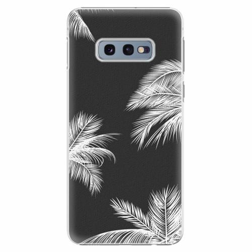 Plastový kryt iSaprio - White Palm - Samsung Galaxy S10e