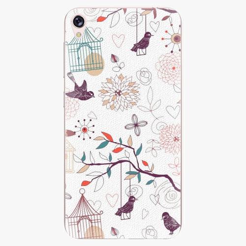 Plastový kryt iSaprio - Birds - Asus ZenFone Live ZB501KL