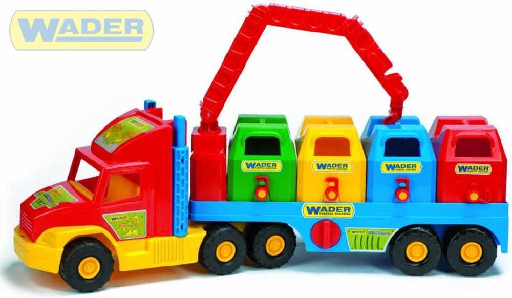 WADER Super Truck tříděný odpad 36530