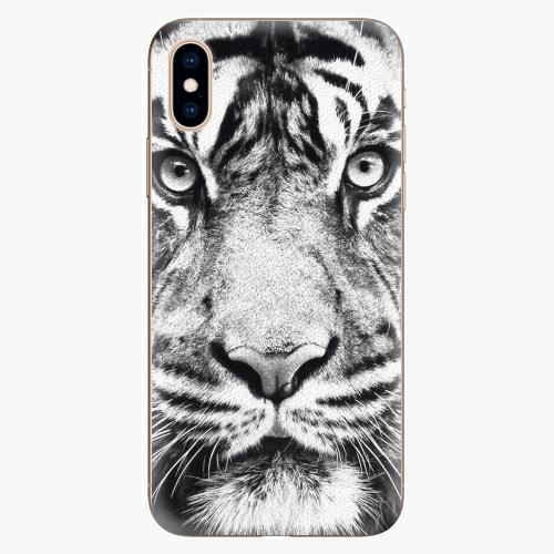 Silikonové pouzdro iSaprio - Tiger Face - iPhone XS