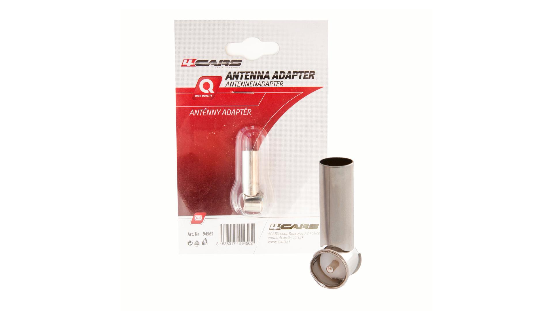 4CARS Anténní adaptér DIN-ISO