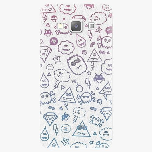 Plastový kryt iSaprio - Funny Clouds - Samsung Galaxy A5