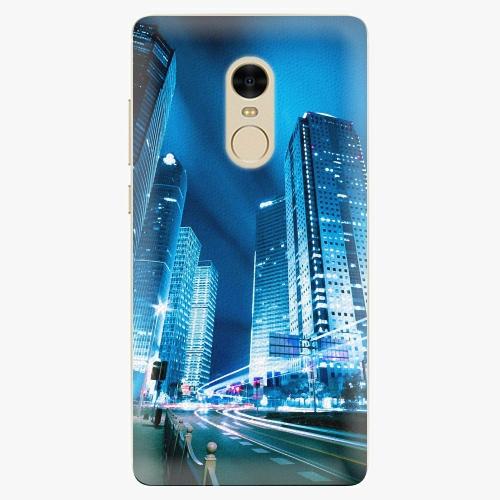 Plastový kryt iSaprio - Night City Blue - Xiaomi Redmi Note 4