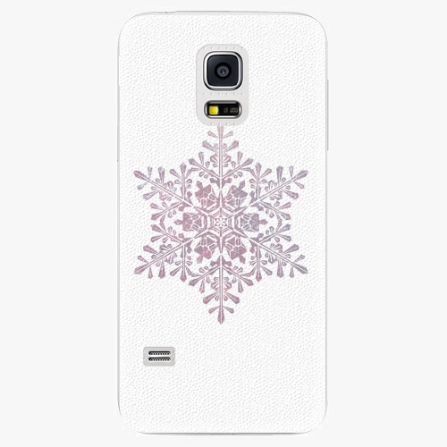 Plastový kryt iSaprio - Snow Flake - Samsung Galaxy S5 Mini