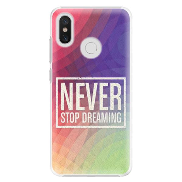 Plastové pouzdro iSaprio - Dreaming - Xiaomi Mi 8