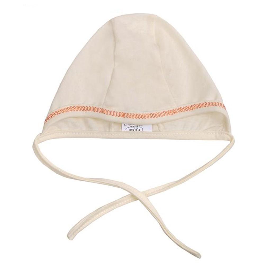 Kojenecká čepička New Baby - béžová/56 (0-3m)