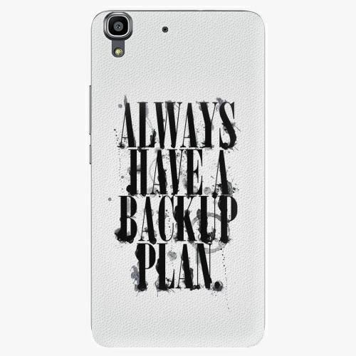 Plastový kryt iSaprio - Backup Plan - Huawei Ascend Y6