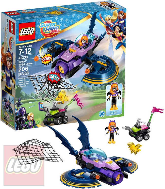 LEGO SUPER HEROES Batgirl a honička v Batjetu 41230 STAVEBNICE