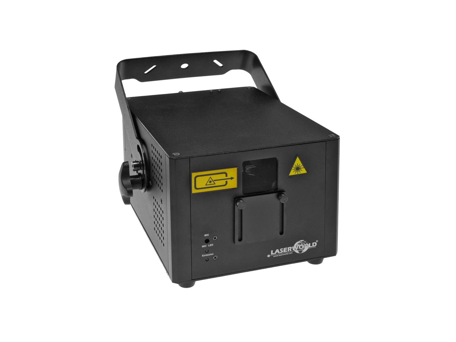 Laserworld CS-2000RGB FX, laser 1,6 W, ILDA